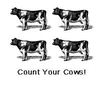 """Cow Star"" Ratings (Evaluating Organics)"