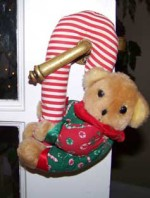 No Doorknob Left Unadorned (and Other Christmas Images)