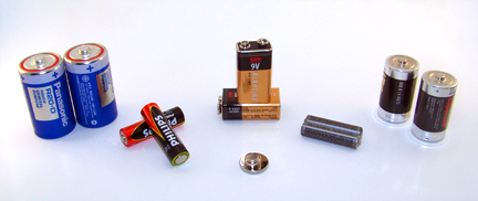 Green Tip:  Look into Rechargeable Batteries