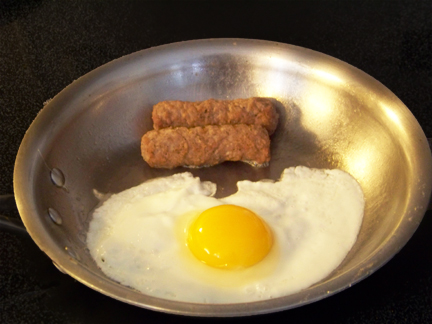 Applegate Farms Sausage with Eggs