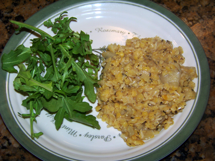 Herbed Lentil and Rice Casserole