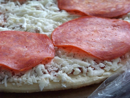 Pepperoni on Pizza