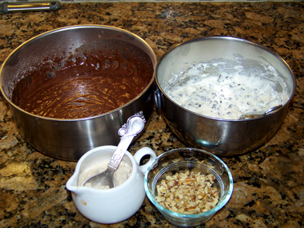 Cheesecake Filled Cupcake Ingredients