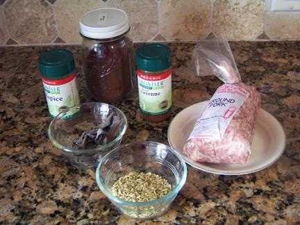Sausage Ingredients