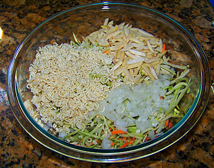 Broccoli Slaw Veggies