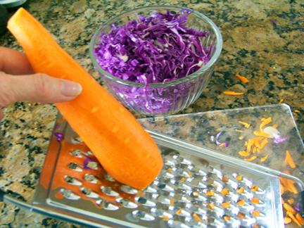 Grating Carrot