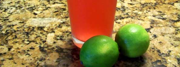 """L"" my Recipe is Lime Cranberry Fizz …         (and I'm Going on a Picnic!)"