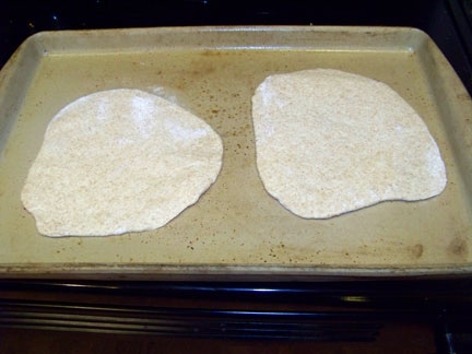 Bake Pita Bread