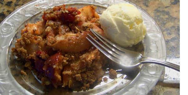 Cranberry Apple Crisp… Au Natural