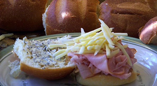 Freezer Ham & Cheese Sliders (for the Desperately Busy)