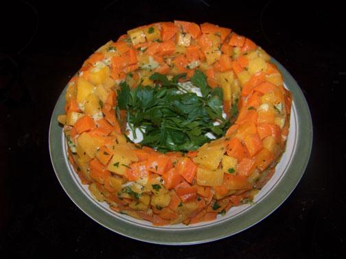 Carrot Rutabaga Ring