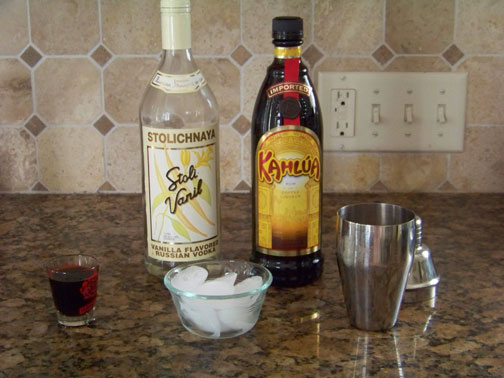 Iced Coffee Martini Ingredients