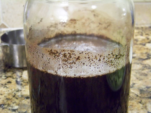 Iced-Coffee-Steeping