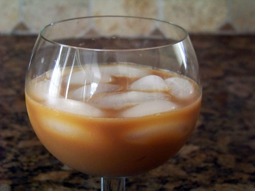Sweetened Iced Coffee