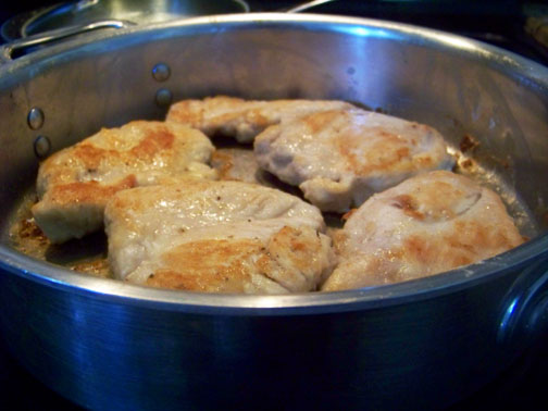 Sautee Chicken Cutlets