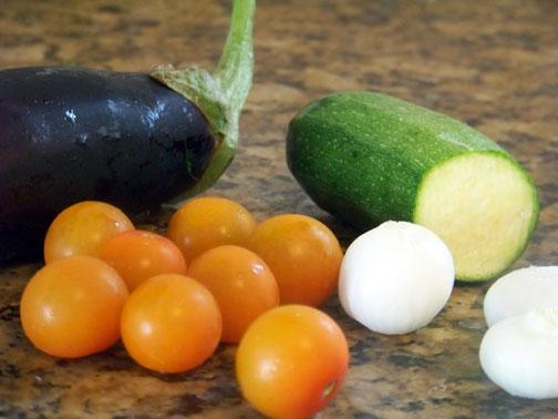 Shish Kabob Veggies