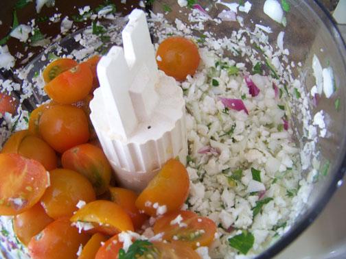 Making Tabouleh