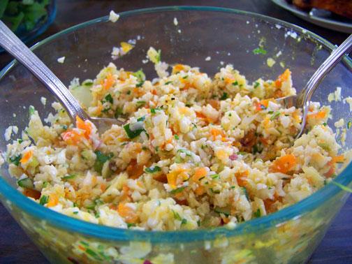Cauliflower Tabouleh–Gluten Free!