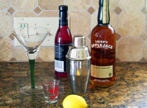 Jack Rose Cocktail Ingredients