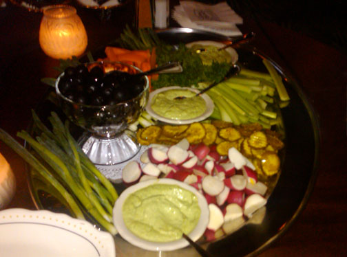 Supper Club Relish Tray at joey Gerards