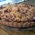 Cranberry Streusel Tart