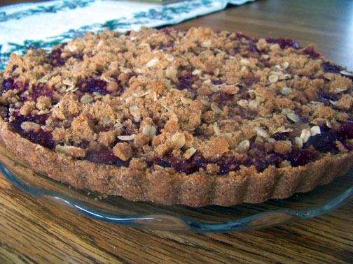 When Life Gives you Cranberry Sauce…  Make Cranberry (Streusel) Tart