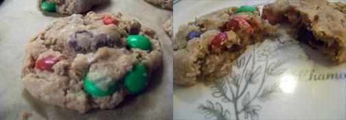 Christmas Cowboy Cookies