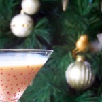 Holiday Eggnog Martini