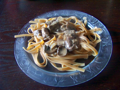 Classic Beef Stroganoff–Winter Comfort Food