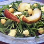 (Deceptively Easy) Warm Pear & Hazelnut Salad