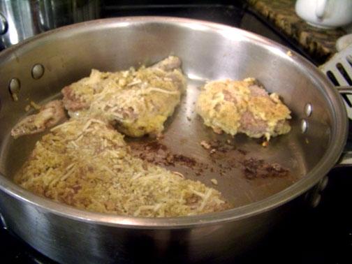 Sautee Sicilian Steak in Olive Oil