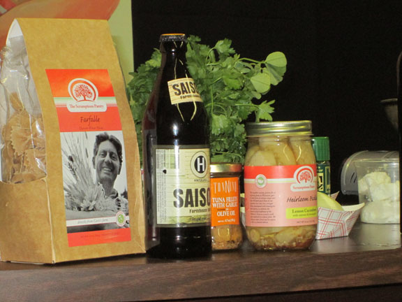 A Selection of Products from Scrumptious Pantry and Others