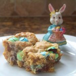 Easter Oatmeal M&M Blondie