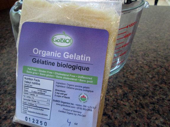 Organic Gelatin