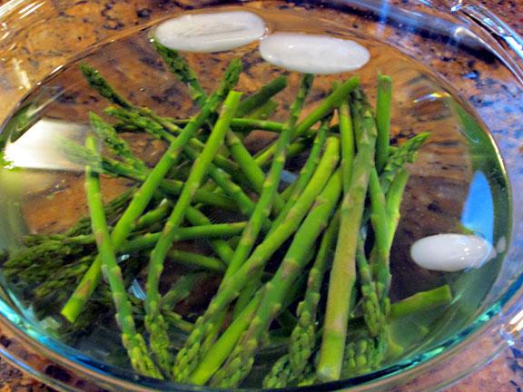 Blanche Asparagus