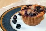 Blueberry Lemon Sugar Muffins