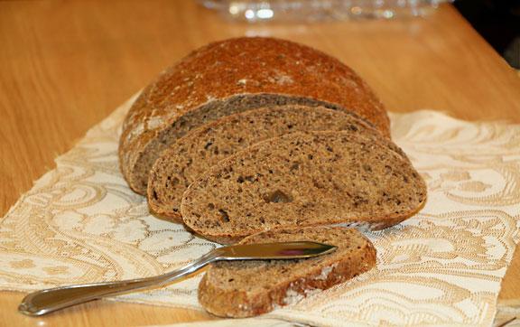 Rustic Rye Bread