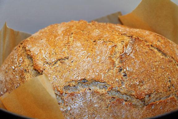 Rye Bread Browning