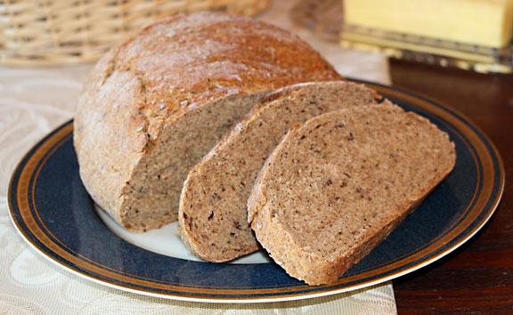 Rye Bread Cut