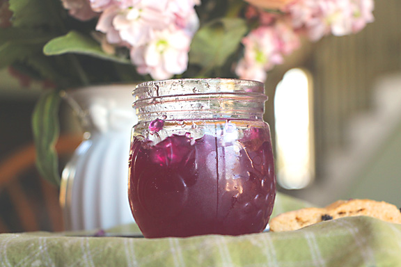 Pink purple violet jelly