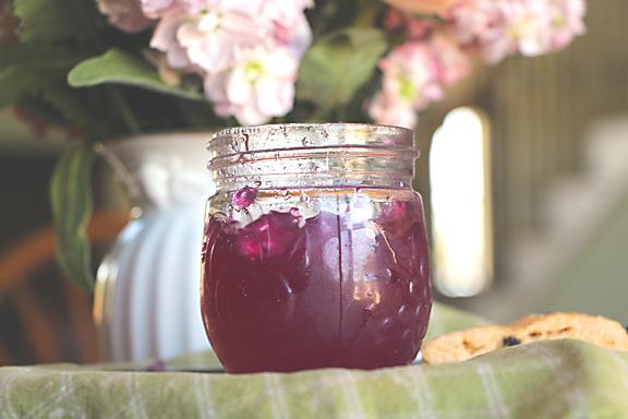Pink purple violet jelly