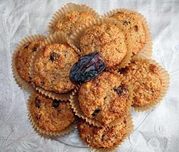 Carrot Oat Bran Muffin Platter