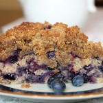 Blueberry Buckle coffeecake
