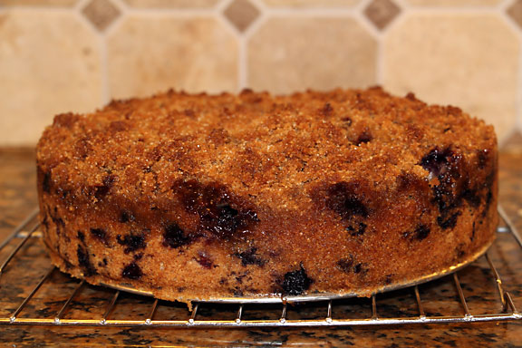 Blueberry Buckle cooling