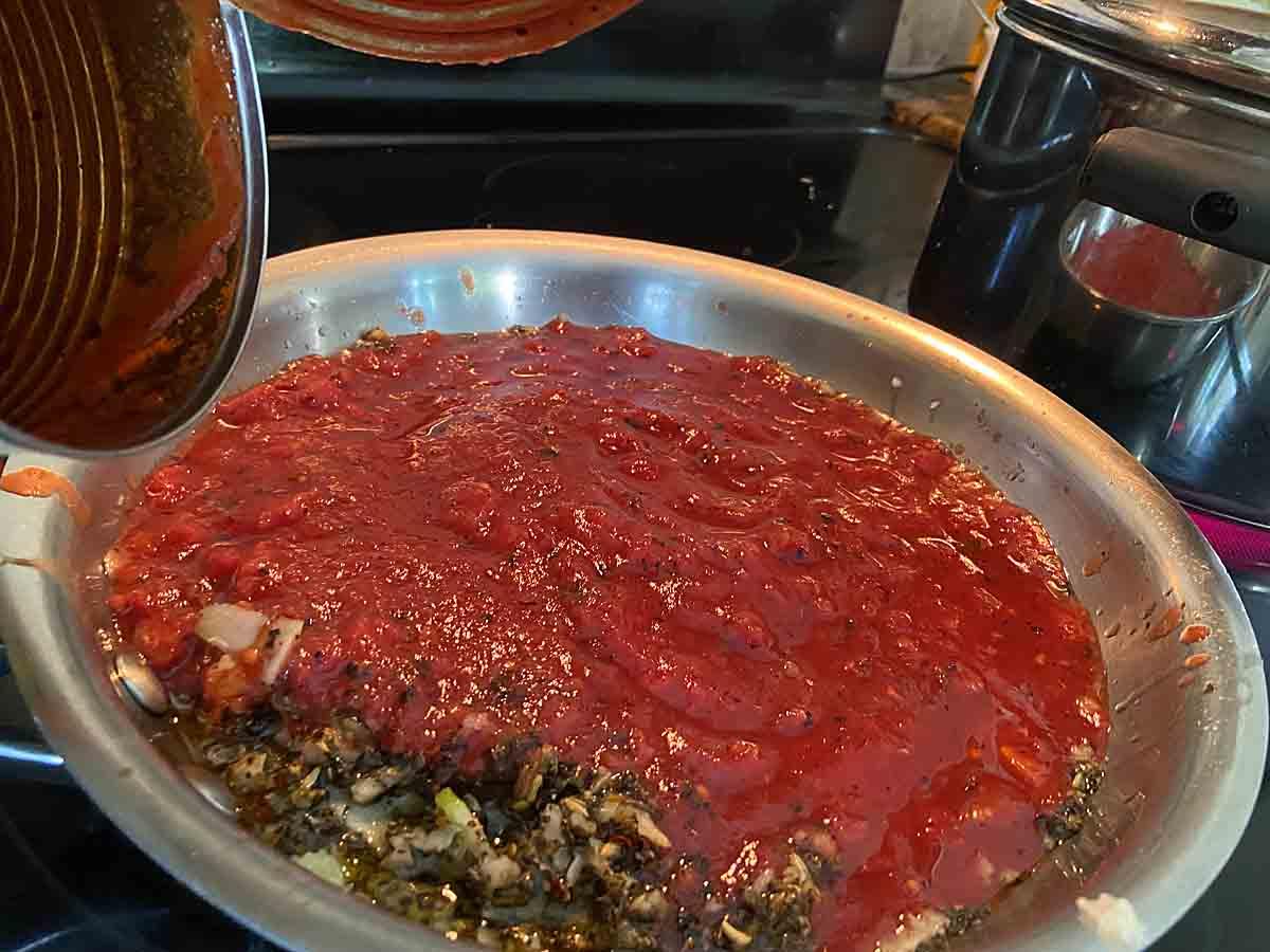 prepare sauce