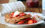 Organic Strawberry Syrup and Pancakes (or…)