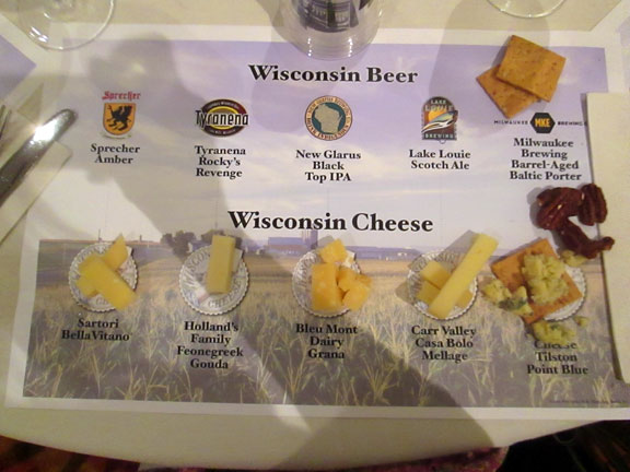 American Cheese Society Wisconsin Beer and Cheese Pairings
