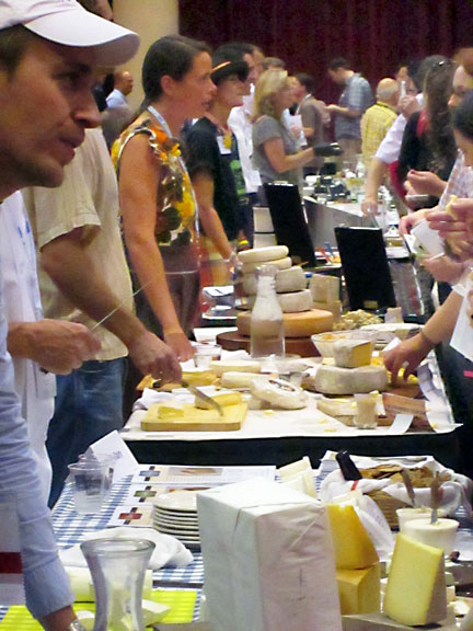 Enjoying Cheese at the Meet the Cheesemaker Event