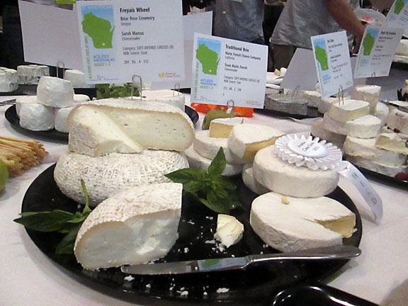 Cheese Sampling at the American Cheese Society Converence