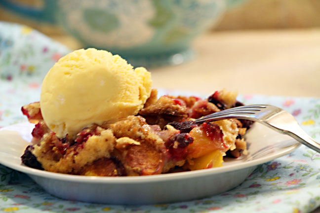 cobbler-serving